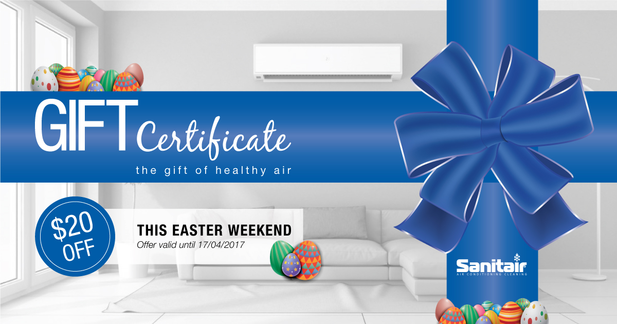 Easter gift voucher sanitair easter gift voucher giveaway negle Gallery