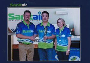 Sanitair Customer Service Award David ChenWeb