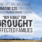 Buy a Bale – Sanitair Lake Macquarie and Sanitair Central Coast donating $20 for every premium service in August